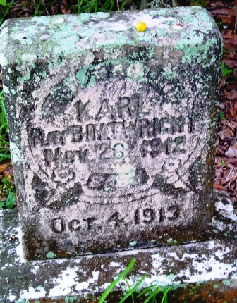 Karl Ray Boatwright Gravestone