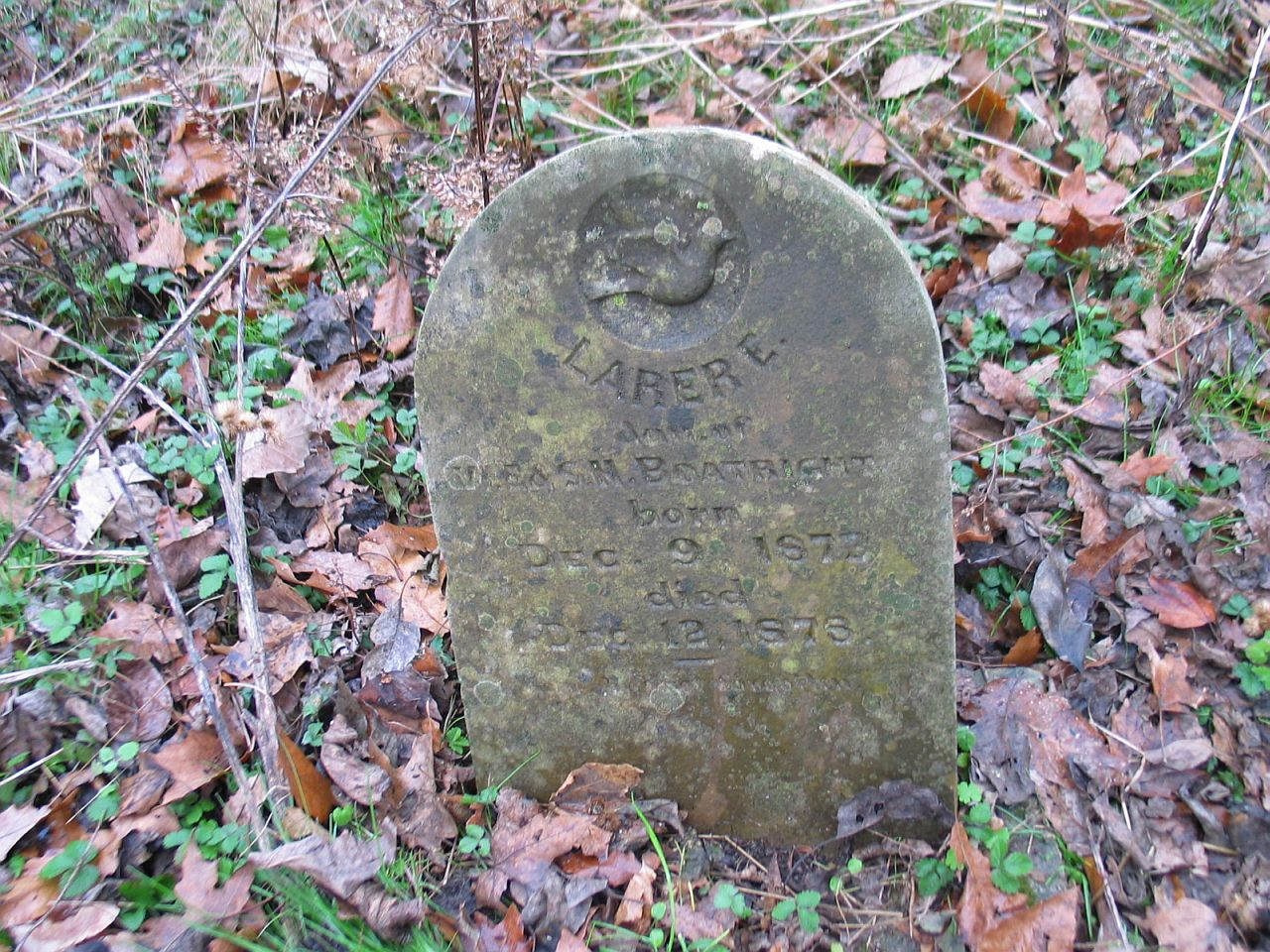 Lorene Boatright Gravestone