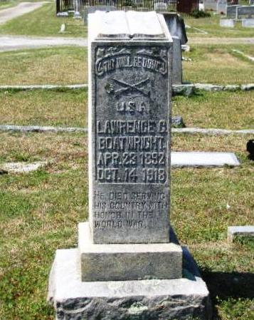 Lawrence George Boatwright Gravestone