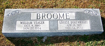 Louise Boatwright Broome Marker