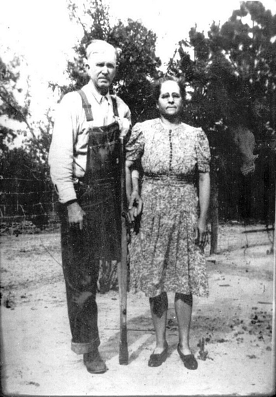 Louvenia Clementine Boatright and Joseph Burdett Smith