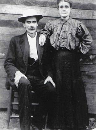 Mahala Anne Johnson Boatwright and Gus Gentles