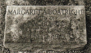 Margareta Boatright Howard Marker