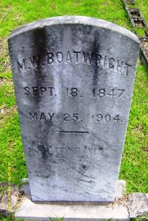 Marion Webster Boatwright Gravestone