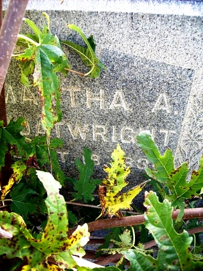 Martha ORear Boatwright Gravestone