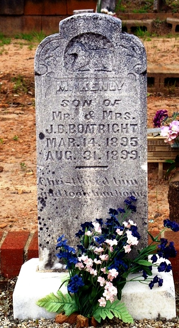 Marvin Kenly Boatright Gravestone