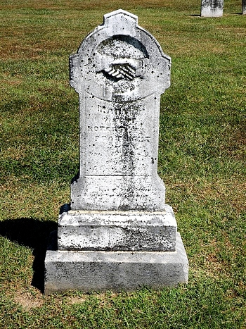 Mary E. Allen Boatright Gravestone:
