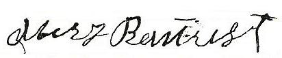 Mary Frances Boatright Signature: