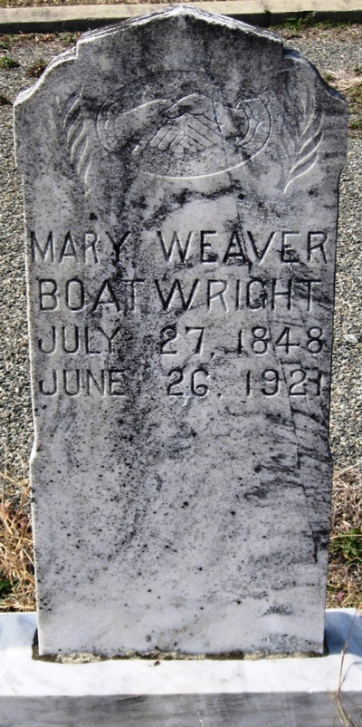 Mary L. Weaver Boatwright Gravestone