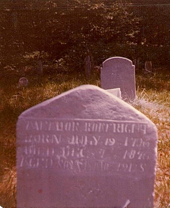 Meador Boatright Gravestone