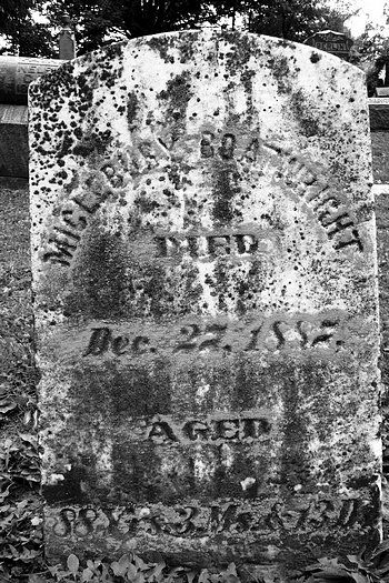 Mickleberry Boatwright Gravestone