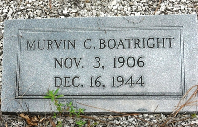 Murvin Louise Cason Boatright Gravestone