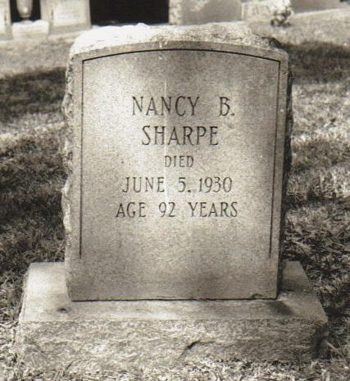 Nancy H Boatright Sharpe Gravestone