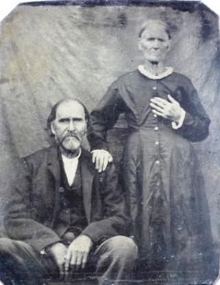 Nancy Palestine Boatright and Henry Hunter Bolinger