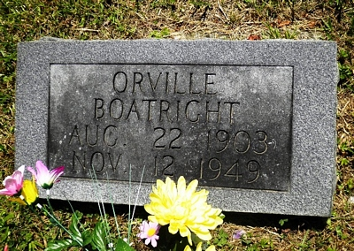 Orville C. Boatright Gravestone