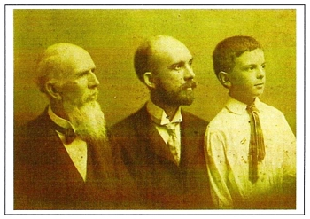 Three Generations of Boatwrights: Reuben Baker Boatwright, son Frederic William 