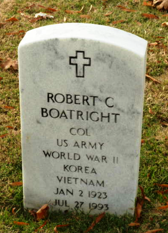 Robert Campbell Boatright Gravestone