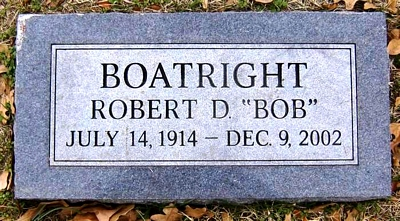 Robert Daniel Boatright Marker