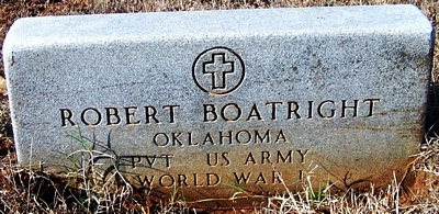 Robert Elmer Boatright Gravestone