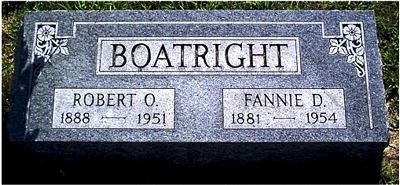 Robert Osco Boatright Marker: