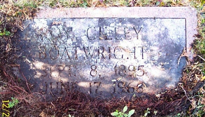 Roy Gilley Boatright Gravestone