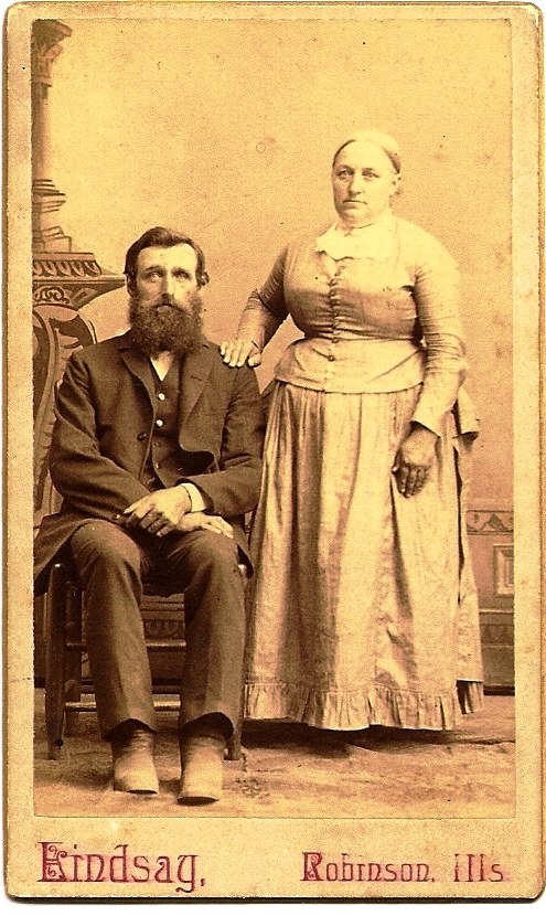 Samuel Alexander Boatright and Stacey Ellen Kibler taken about 1890