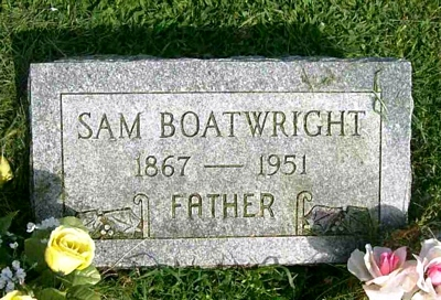 Samuel Downing Boatwright Marker