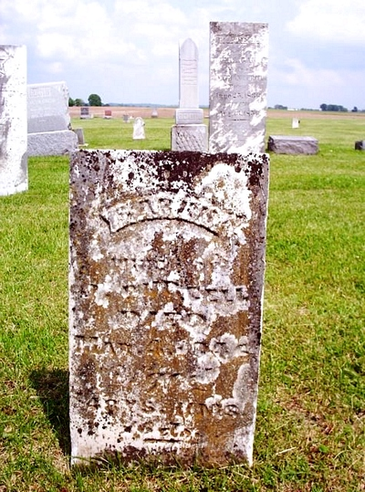 Sarah Boatright Gravestone