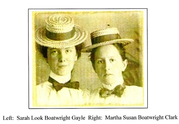 Sarah Look Boatwright and Martha Susan Boatwright