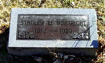 Stanley W. Boatright Gravestone