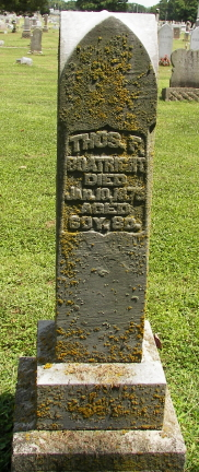 Thomas Franklin Boatright Gravestone: