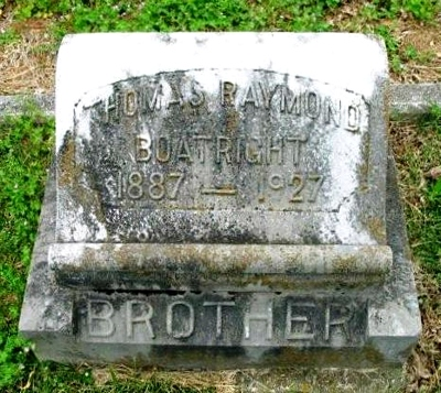Thomas Raymond Boatright Gravestone