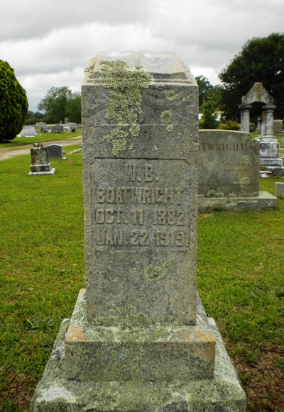 William B. Boatwright Gravestone