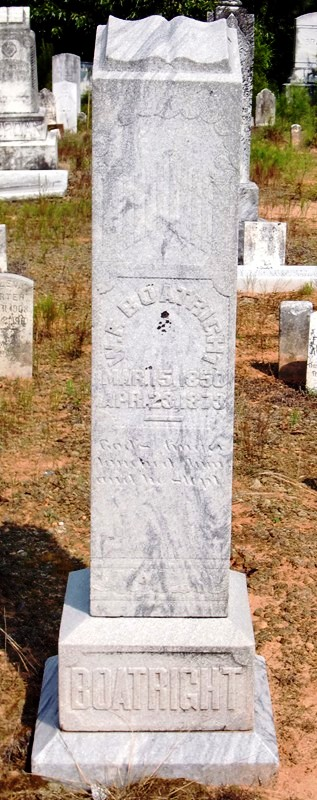 William Franklin Boatright Gravestone: