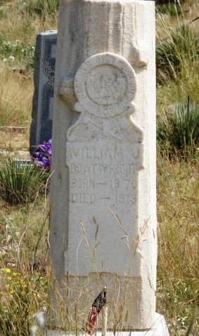 William Jesse Boatwright Gravestone