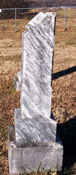 William McLean Boatright Gravestone