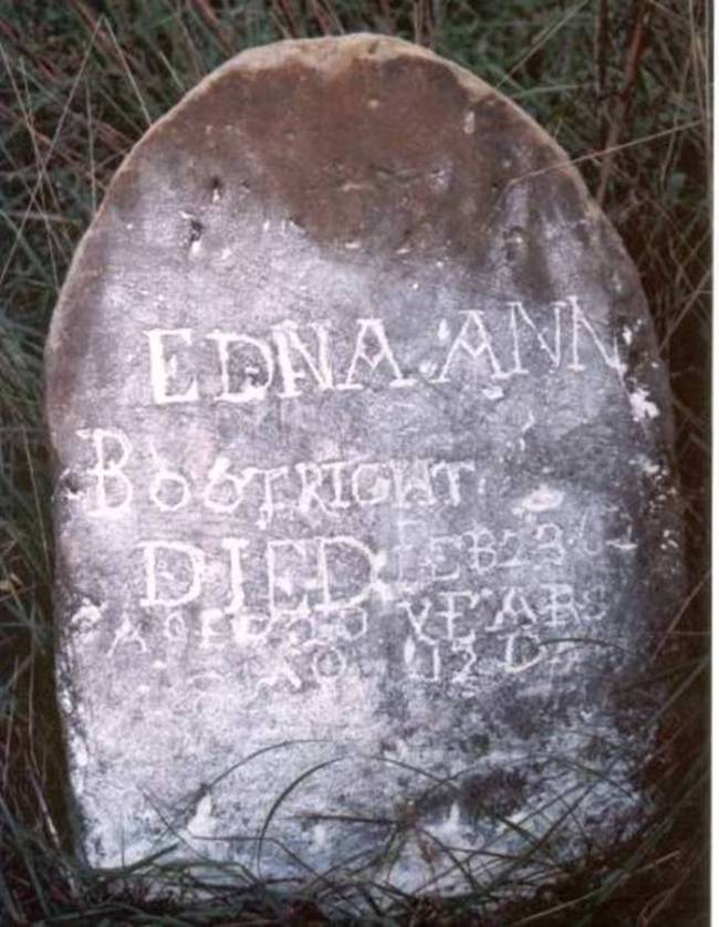 Edna Ann Boatright Grave: