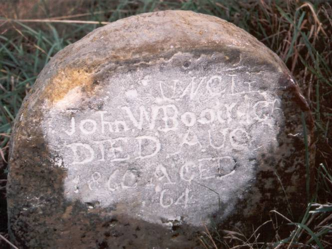 John W. Boatright Grave